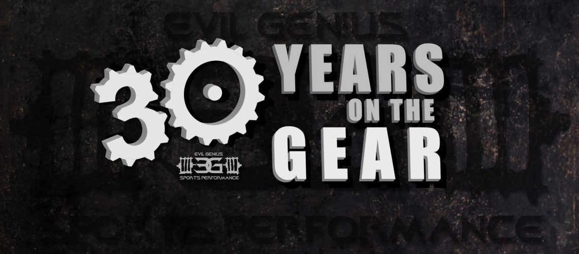 30 Years on the gear