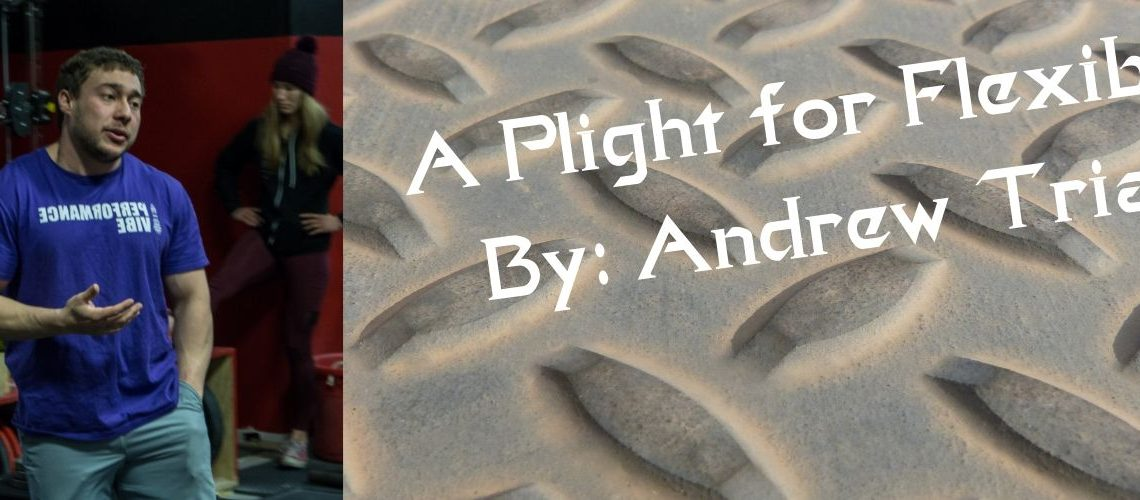 A Plight for Flexibility By Andrew Triana