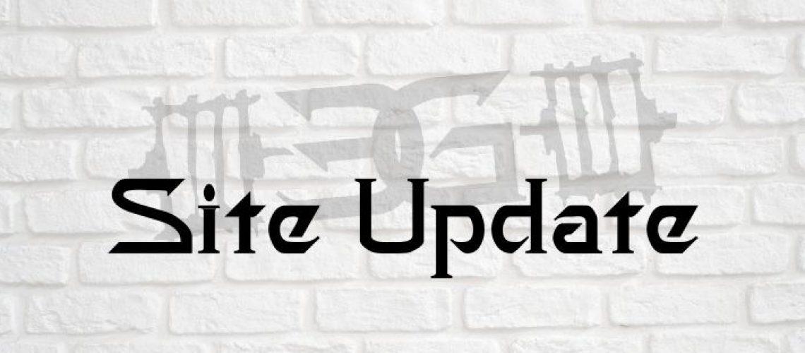 Site Update V2